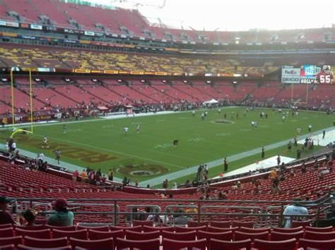 section 227 fedex field fedexfield section 228 rateyourseats com