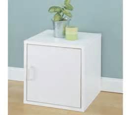 Single Cube Shelf by Single Door Storage Cube Bedside Table College Organizer