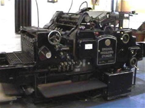 Original Heidelberg Compression 6 heidelberg printer lithography and letterpress 5 heidelberg sb platen
