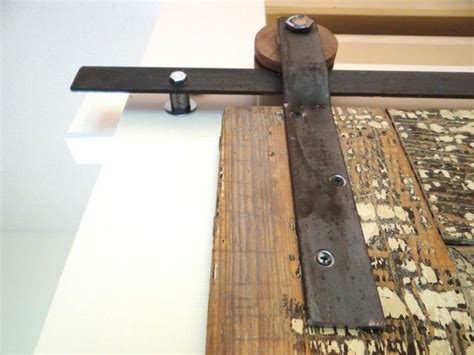 Diy How To Create Your Own Barn Door Track Hardware Make Your Own Barn Door Track