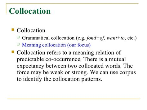 define collocate define collocate collocation using english collocations
