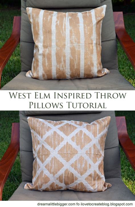west elm floor pillow west elm inspired diy throw pillows for cheap ilovetocreate