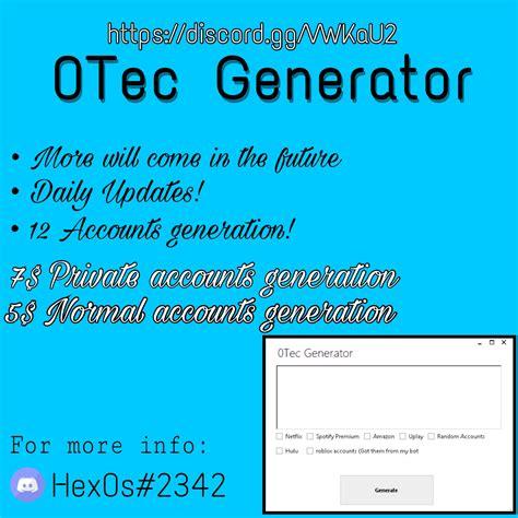 fortnite account generator 0tec account generator generates spotfiy netflix roblox
