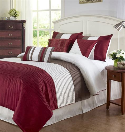 beige and burgundy bedroom red and beige cream bedding ease bedding with style