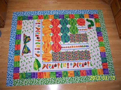 Hungry Caterpillar Quilt Kit by The Hungry Caterpillar Quilt Top