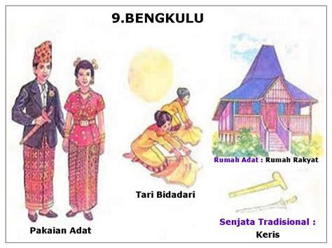 Baju Adat Rumah Adat Tarian Adat rumah adat pakaian adat tarian tradisional senjata the knownledge