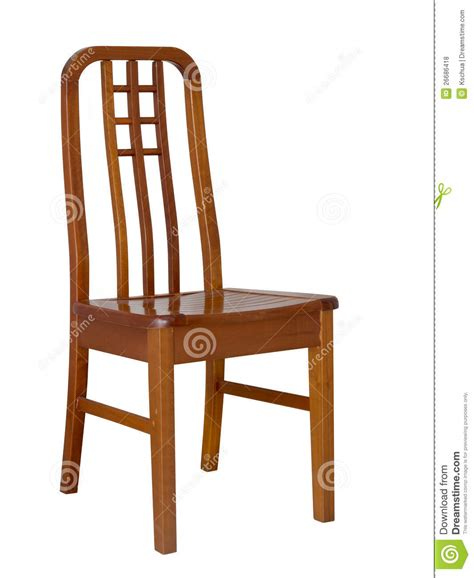 wooden dining chair royalty free stock photos image