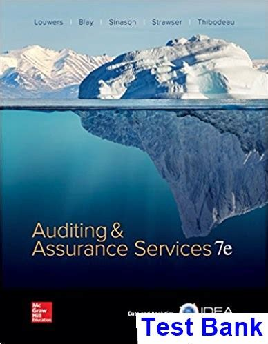 Auditing And Assurance Services auditing and assurance services 7th edition louwers test bank