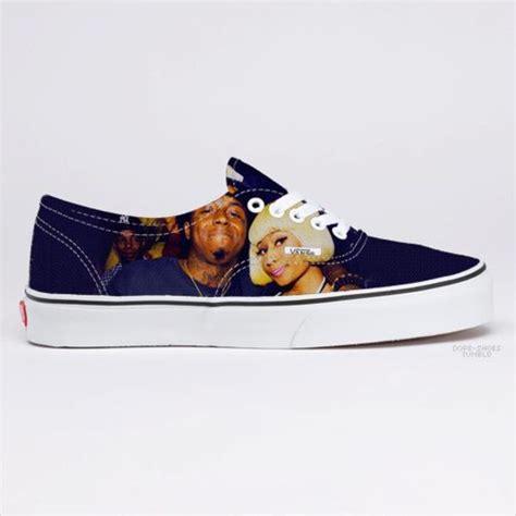 shoes for lil shoes lil wayne nicki minaj vans blouse wheretoget