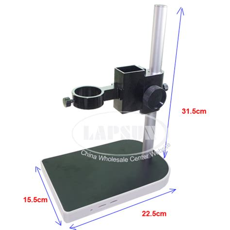 big lab industry stereo microscope table stand dual