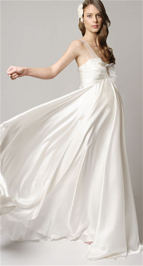A Wedding Dress For A Pregant Chruch by Maternity Wedding Gowns That Wow Articles Easy Weddings