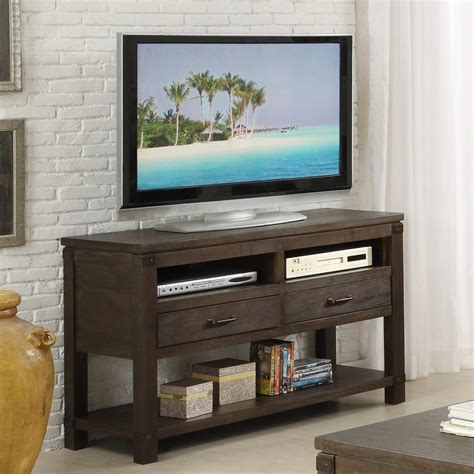 table tv on wall console table design pictures comes with wooden varnishing
