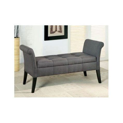 upholstered bench seat with storage storage bench seats these upholstered grey colored bench