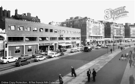 swiss cottage finchley road shopping centre c 1965