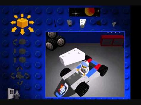 lego racers tutorial how to build white rocket racer lego racers 1 youtube