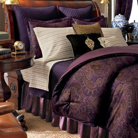 purple paisley comforter paisley fashion bedding kohl s