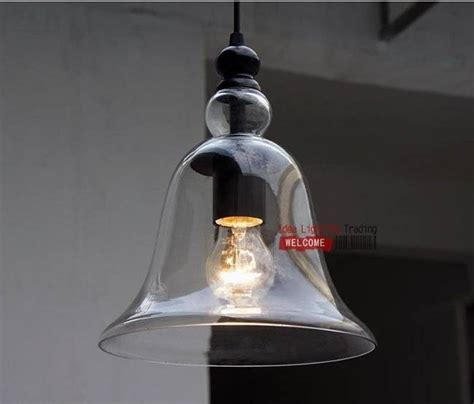bell shaped pendant light 15 best collection of glass bell shaped pendant light
