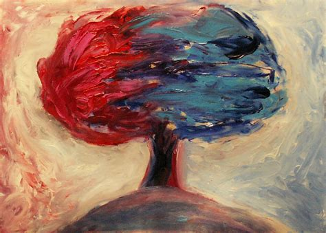 painting artist the tree of duality by ivanradev on deviantart