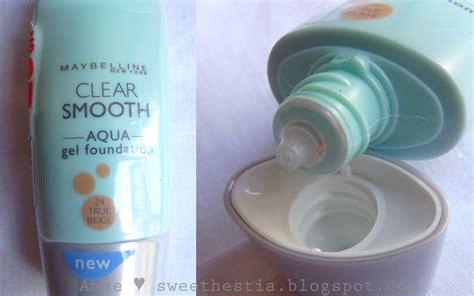 Maybelline Aqua Gel Foundation and fashion product review maybelline aqua