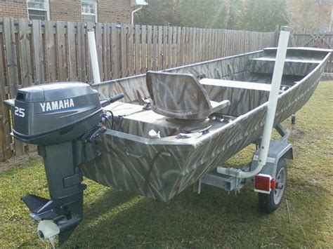jon boat fishing forum 1644 aluminum jon boat 25 hp yamaha and trailer the