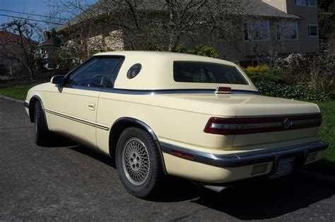 Tc Maserati by Curbside Classic 1989 Chrysler S Tc By Maserati The