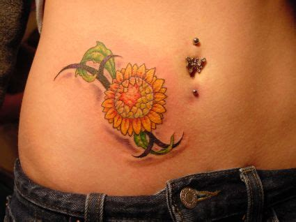 sunflower tribal tattoos 16 hip images pictures and ideas