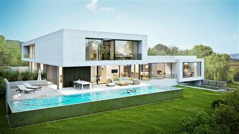 Villa Schweiz by Villa Thurgau Bilderhof 3d Visualisierung