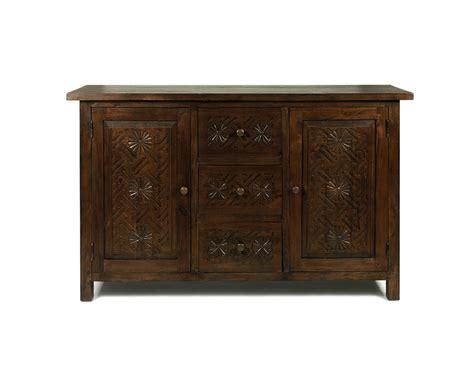 dark wood sideboard carved reclaimed teak sideboard