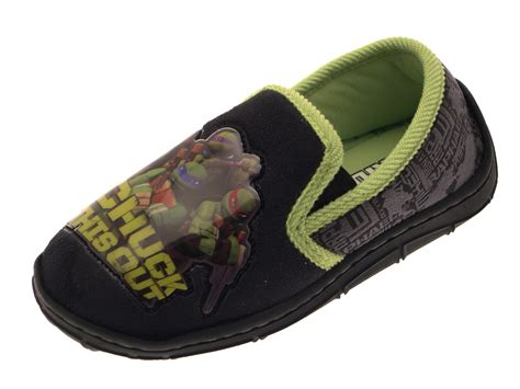 7 Shoes For Teenagers by Boys Mutant Turtles Slippers Mules Tmnt