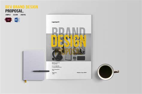 design proposal for branding dev brand design proposal template by bizzcreatives