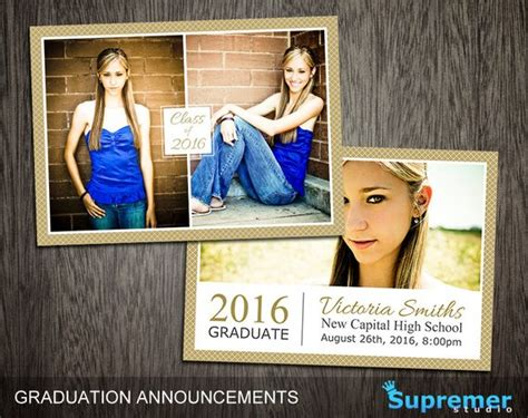 Free Photoshop Graduation Card Templates by Graduation Announcements Templates Graduation Card Templates