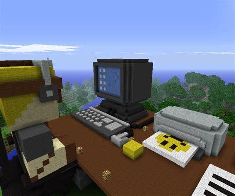 desk minecraft project