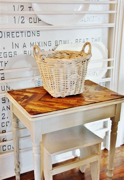 paint stick table top thistlewood farm