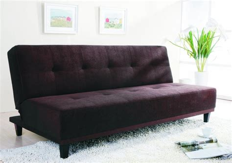 cheap sofa sleepers sofas classy modern minimalist black color cheap sofa bed