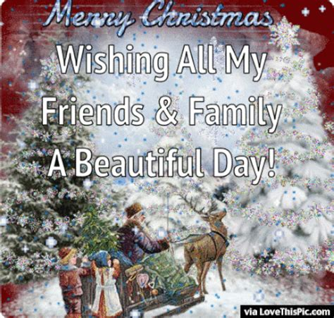 merry christmas wishing   friends  family  beautiful day pictures   images