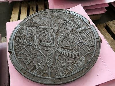 decorative manhole covers return  nicollet mall