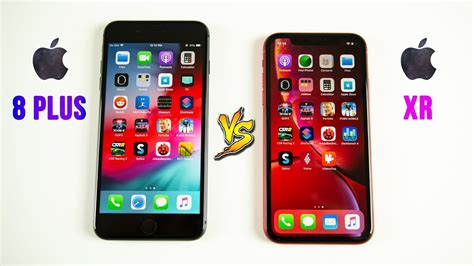 iphone xr vs iphone 8 plus speed test does 1 generation make a difference