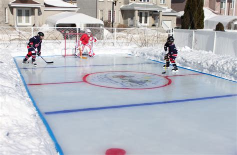 backyard hockey rink plans backyard ice rink paint outdoor furniture design and ideas