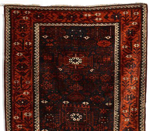 half area rugs lot 257 2 baluchi area rugs 1st half 20th c