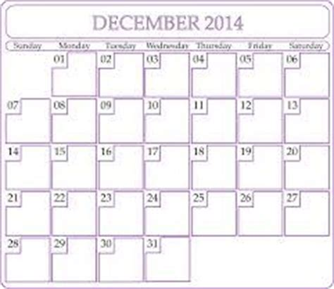 Calendar Of December 2014 December 2014 Calendar A Collection Of Other Ideas To Try