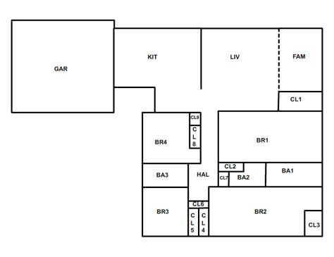 One Bedroom House Plans simple one story floor plans and structured wiring retro