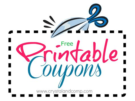 coupon resources printable coupons