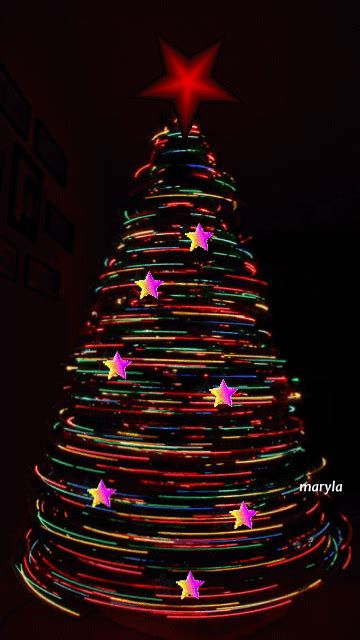 spinning christmas tree pictures photos and images for