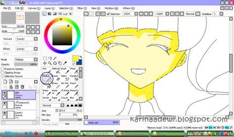 tutorial menggambar dengan paint miyazaki karin s blog tutorial digital art menggambar