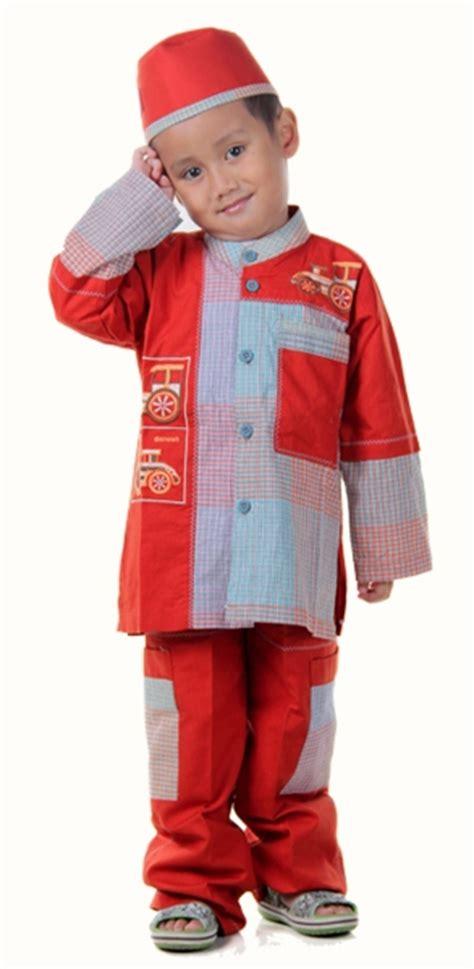 Baju Koko Anak Size 6 9 Tahun detail baju koko anak oren toko bunda