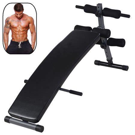 zimtown adjustable sit  bench inclinedecline board