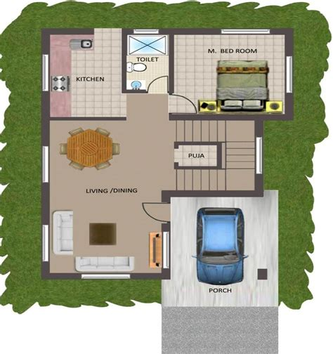 indian home design 2bhk bedroom apartmenthouse collection with 2 bhk house plan