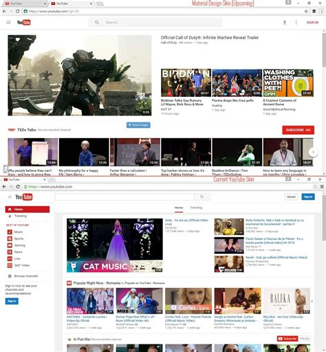 how to get new youtube homepage design right now askvg here s how to enable youtube s upcoming material design skin