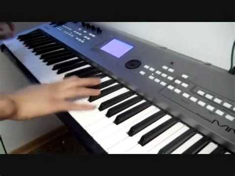 Keyboard Musik house on keyboard