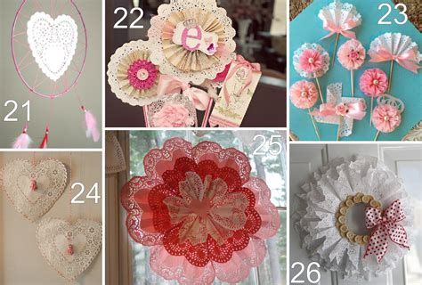 26 paper doily crafts the scrap shoppe